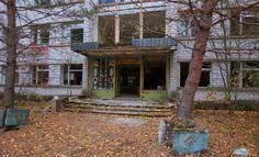 Pripyat Police Station and Jail, (Chernobyl Exclusion Zone), Ukraine - Oct 2016
