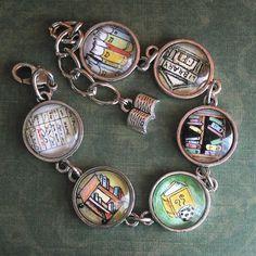 Librarian Charm Bracelet