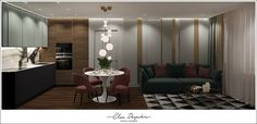 Дизайн-проект квартиры ЖК Скандинавия. Divider, Room, Furniture, Home Decor, Bedroom, Decoration Home, Room Decor, Rooms, Home Furnishings