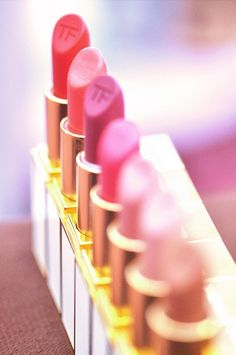 ♥ ♥ ♥ ♥ ♥ ♥ ♥ ♥ ♥ ♥ ♥ ♥ ♥ ♥ ♥ Tom Ford Shades of Pink Lipstick Line