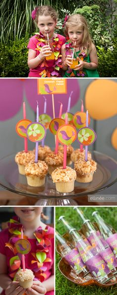 Kids Luau Party Inspiration