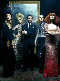 An exclusive look at Tom Ford's Spring 2011 collection.