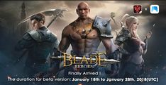 BLADE REBORN IS A THRILLING NEW GAME OF THE AGES & IT IS NOW AVAILABLE ON GOOGLE PLAY