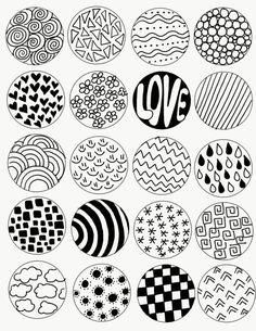 Doodle Patterns 415527503121250116 - Zentangle Art for Kids Project Art Cd, Cd Wall Art, Record Wall Art, Easy Doodle Art, Doodle Art Designs, Mandala Art Lesson, Mandala Drawing, Drawing Drawing, Design Art Drawing