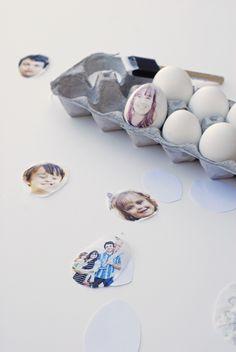 Self Portrait Eggs...pretty awesome! =)