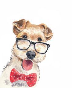 dogs watercolor - Поиск в Google