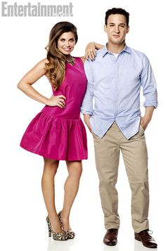 Danielle Fishel as Topanga Lawrence and Ben Savage as Cory Matthews - Girl Meets World Ben Savage, Danielle Fishel, Boy Meets Girl, Girl Meets World, Cory E Topanga, Cory And Shawn, Cory Matthews, Kids Outfits, Cute Outfits
