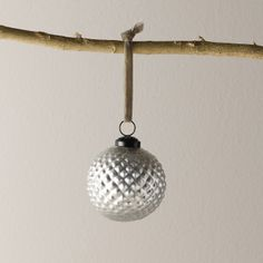 6x Porcupine Bauble | The White Company