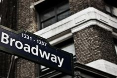 My original Bucket List was to sing in a musical on Broadway. Now I'll settle for just singing on the street Broadway - but it still has to be in NYC.