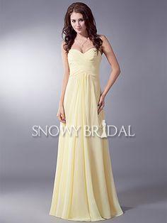 Yellow Bridesmaid Dresses,Pale Yellow,Lemon Bridesmaid Dresses UK ...