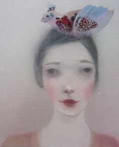 I know I've shared her works a couple of times before, but that didn't stop me from doing it again today. Paintings by Kristin Vestgård, posted on the blog! Again! http://www.artisticmoods.com/kristen-vestgard-3/