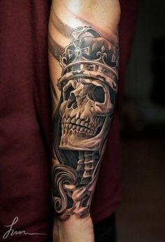 Black And Gray | Arte Tattoo - Fotos e Ideias para Tatuagens - Part 81