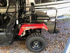 Back Seat, Rear Seat, Honda Pioneer 500, Utility Bed, Utv Accessories, Easy Install, Bed Sizes, Golf Carts