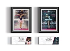 Bucharest City Ballet, posters design, facebook covers. www.pixelo.ro