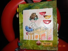 altered book for my daughter.