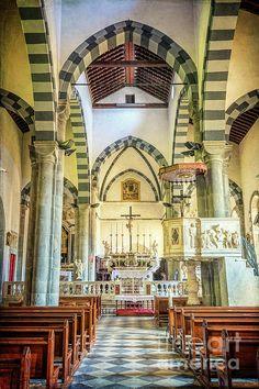 Check out this photograph on Fine Art America! http://fineartamerica.com/featured/san-giovanni-battista-riomaggiore-church-joan-carroll.html @joan1992  #churches #italy