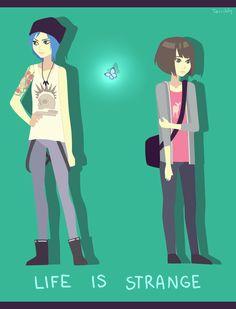 writer-gamer: Max x Chloe fan art by kiikurix