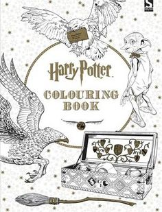 Like millions of people around the world who never got their Hogwarts acceptance owls, I tend to cling onto any Harry Potter-related news. That is why learning about a new Harry Potter coloring book made me so happy this morning! Harry Potter Colors, Cumpleaños Harry Potter, Mundo Harry Potter, Lord Voldemort, Adult Coloring Pages, Coloring Books, Colouring Pencils, Fairy Coloring, Free Coloring