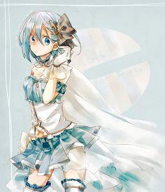 Tags: Anime, Fanart, Pixiv, Mahou Shoujo Madoka☆Magica, Miki Sayaka