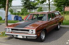 A Satellite Station Wagon dressed as a GTX
