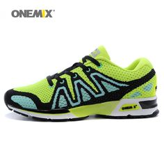 Onemix mens running shoes breathable outdoor women walking shoes masage male sport sneakers light jogging shoes