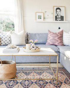 Interior Home Design Cozy Living Rooms, Living Room Interior, Home Living Room, Living Room Designs, Living Room Decor, Cottage Living, Interior Design Tips, Home Design, Interior Ideas