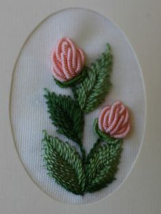 Wonderful Ribbon Embroidery Flowers by Hand Ideas. Enchanting Ribbon Embroidery Flowers by Hand Ideas. Bullion Embroidery, Brazilian Embroidery Stitches, Hardanger Embroidery, Types Of Embroidery, Learn Embroidery, Hand Embroidery Stitches, Silk Ribbon Embroidery, Crewel Embroidery, Embroidery Techniques