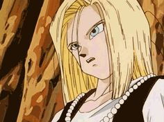 Android 18 GIF - dragon-ball-females Photo