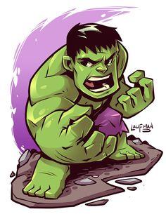Hulk by Laufman