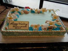 Weeding, Themed Cakes, Cake Ideas, Wedding Cakes, Wedding Planning, Shower, Beach, Desserts, Food