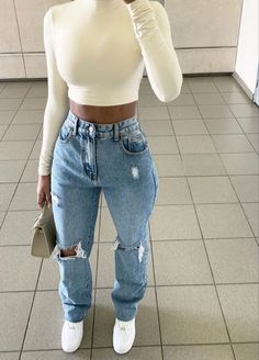 Teen Fashion Outfits, Dope Outfits, Retro Outfits, Cute Casual Outfits, Simple Outfits, Look Fashion, Stylish Outfits, Dress Casual, Fashion Women