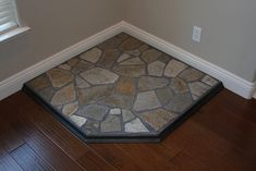 corner hearth  pad