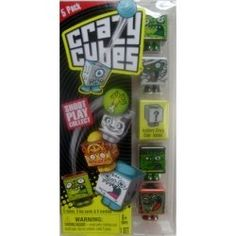 Crazy cubes is a brand new card and marble shooting game from spin master. Right now there are 55 crazy cubes to collect with more to be added...