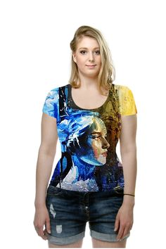 By Lalita Singh, OArtTee specializes in creating amazing, vibrant and colorful Wearable Art