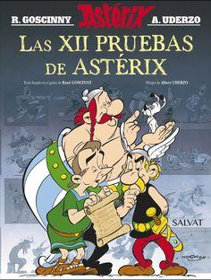 """""""Las XII pruebas de Astérix"""" R. Goscinny"""