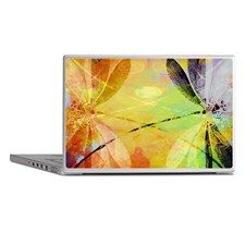 Colorful dragonfly reflection Laptop Skins for