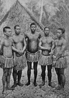 Group of men from Nauru.