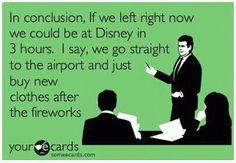 let's go to Disney World!!