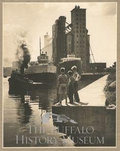 Buffalo Harbor 1939