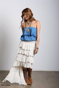 Tango Uneven Skirt