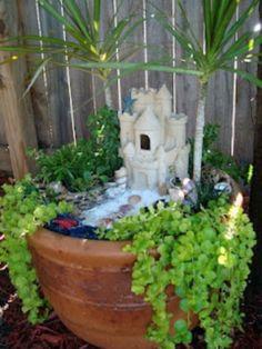 awesome 45 Best Gardening Ideas: Mermaid and Beach Themed Fairy Garden https://wartaku.net/2017/06/25/45-best-gardening-ideas-mermaid-beach-themed-fairy-garden/