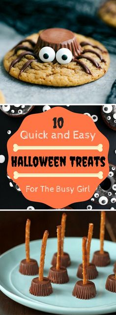 Wow these halloween treats are super easy and quick to make! It almost feels like cheating! #halloween #halloweenfood #trickortreat #halloweensnacks #easysnacks #halloweendiy