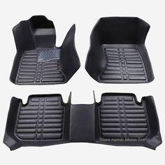 Custom fit car floor mats for Chevrolet Cruze Sonic Trax Sail captiva epica 3D car styling carpet floor liner RY46