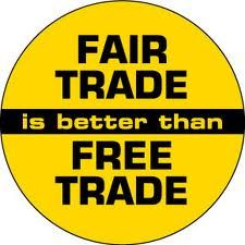 is free trade fair Fair trade special - it's unfair when poor countries can't sell their goods here it's  also unfair  but what of free trade and fair trade do they go.