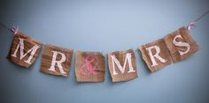 DIY Special: Rustic Banner By Brides Made - The Promise NIThe Promise NI