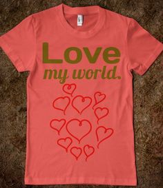 #Skreened                 #love                     #Love #World #Hearts #Junior #Shirt #Connected #Universe                      Love my World Hearts Junior Shirt - Connected Universe                                                  http://www.seapai.com/product.aspx?PID=598284