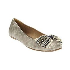 Coconuts by Matisse  Women's Brie Ballet Flat - Silver