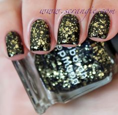 Scrangie: Deborah Lippmann Cleopatra in New York Holiday 2012 Swatches and Review
