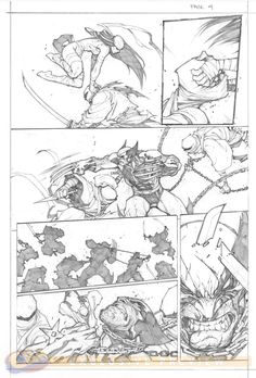 Joe Madureira - Savage Wolverine