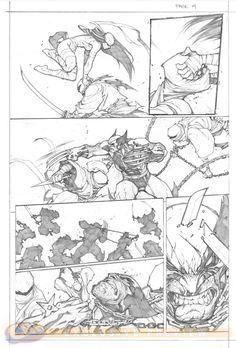 Savage Wolverine #6. Art by Joe Madureira.
